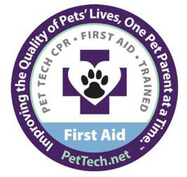 First Aid Certified for Pets, Dogs and Cats